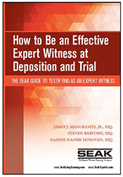 effective expert witness at deposition