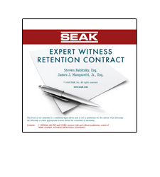 Expert Witness Retention Contract